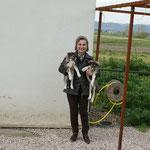 Frau Suvar Cömlek/ Vorsitsende des Tierschutzvereines in Balikesir