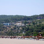 Club Seno vom Strand aus