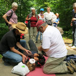 Weiterbildung Erste Hilfe im Wald
