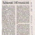 Il giornale di Vicenza Corale le Voci dei Berici e Gruppo corale El Soco