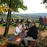 Die Weinrast mit Weitblick in Mölsheim