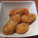 9. Fried bananas