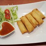 7. Mini spring rolls (vegetarian)