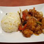 59. Fish fillet Szechuan