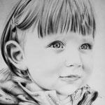 Bambina - Matita su carta 24X33