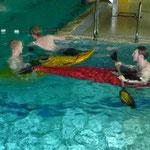Nanu, Kajaks als Unterwasserfahrzeuge?