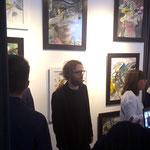 Exposición conjunta Ernesto Alterio, Raúl Herrera.