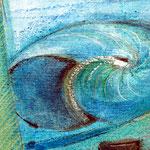 Muschel / Ausschnitt aus einem Seelenbild von Hans-Jakob Bopp