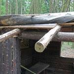 Morsches Holz wurde entfernt. Foto: B. Harwardt