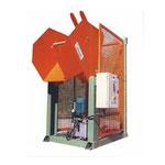 Basculeur hydraulique 135°, capacité 500kg, alimentation au sol