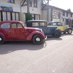 Sortie en voiture ancienne - Repas au restaurant de Beaulieu en Argonne