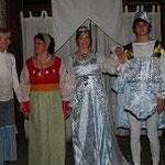 Hier hat es jemand auf den Gewinn des Kostümwettbewerbs abgesehen...