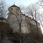 Bei schönstem Wetter reisen wir am 12. Januar auf Burg Bilstein im Sauerland an.