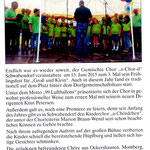 Frühlingsfest Schwabendof 2015