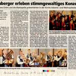 Weihnachtskonzert in Momberg