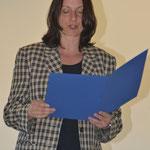 Ehrung für 25 Jahre aktives Singen - Urkundenvorlesung