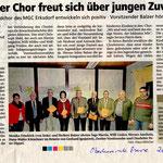 JHV mit Ehrungen in Erksdorf