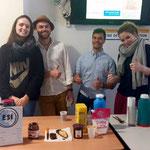 Merci aux étudiants de l'IFSI, l'IFAS et les fidèles gourmands d'avoir acheté gâteaux, cafés et chocolats durant ces 2 semaines de retour à l'école !