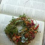 カニクサのクリスマスリース