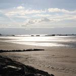 Atlantikstrand bei Ebbe