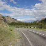 auf dem Weg Richtung Mongolische Grenze
