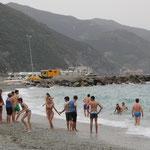 Strandleben am Standplatz Monte Rosso