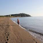 Strandspaziergang zw. Piombino u. San Vincenzo