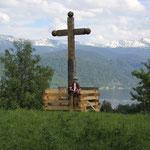 Wanderung mit Gipfelkreuz 50m über Seehöhe