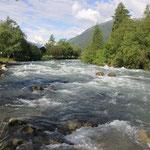 morgens unser Fluss Noce