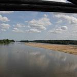 Standplatz an der Loire