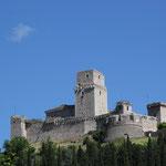 Roccia maggiore, Burg oberhalb Assisi