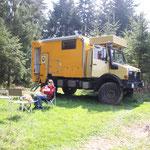Mittagsplatz im Wald, Niederbayern