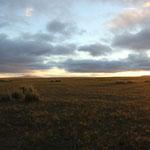 Sonnenuntergang am Standplatz