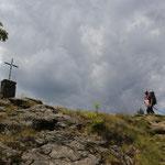 Kurz vor dem Gipfel Großer Falkenstein 1315 m