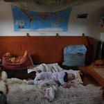 Schlaf-Kinder-Wohn-Esszimmer
