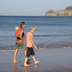 3. Generationen am Strand