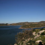 Embalse de Guadalhorce, Standplatz