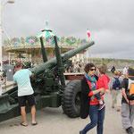 Kanone und Karusell