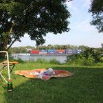 Camping an der Seine