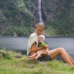 Lac du Òo m. Wasserfall