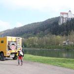 Karsamstag im Altmühltal, Schloss Prunn
