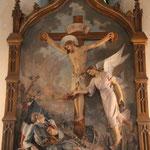 """""""Ich bin die Auferstehung und das Leben"""" Kirche in Carcassonne"""