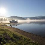 Morgenstimmung am Telesekoye-See