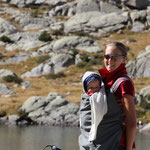 Stephanie,Sarah, Ibon di Milles 2385 m