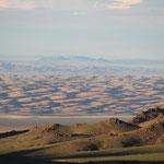 Mongol Els in Sicht