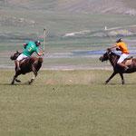 Polospiel des Gschingiskhan Polo Clubs