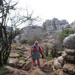 Wanderung NP El Torcal, ca. 1200 m