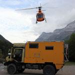 Hubschrauberlandeplatz  Val Pineta
