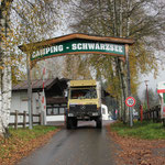 Ausfahrt Camping Schwarzsee