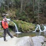 Martin am Wasserfall